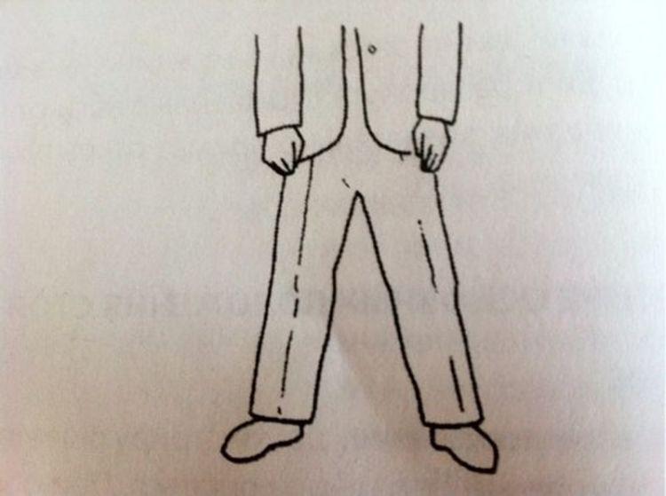 Положение ног во время беседы может многое рассказать о намерениях собеседника