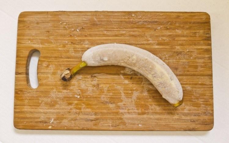 Готовим самое здоровое мороженое из замороженного банана