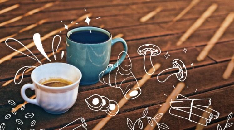 Кофе с грибами или куркумой: 6 способов зарядить бодрящий напиток витаминами и антиоксидантами
