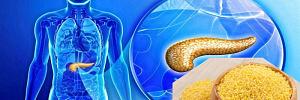 Лечение поджелудочной железы с помощью пшена