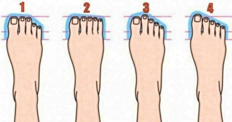 Секрет прост как никогда: человеческая нога может рассказать о личности многое