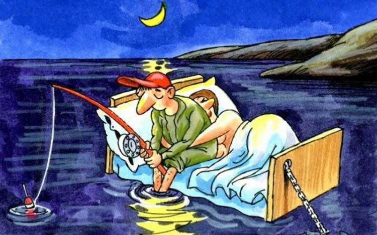 Не в рыбалке дело: популярные отмазки мужчин в супружеской постели