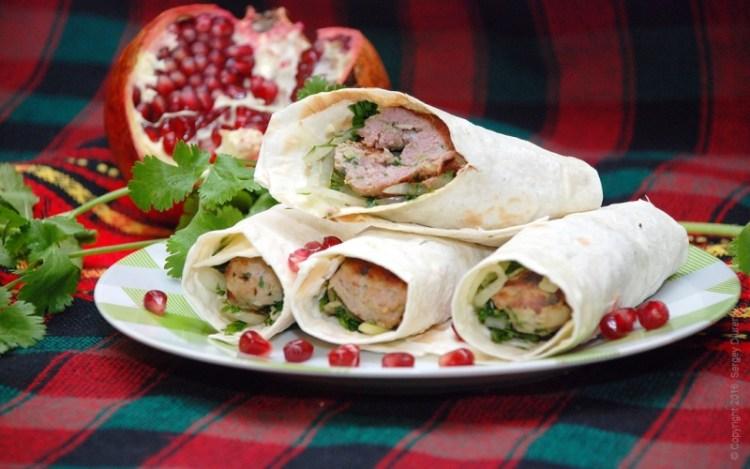Кебаб из баранины на тонком лаваше: обилие оригинального вкуса на вашем столе