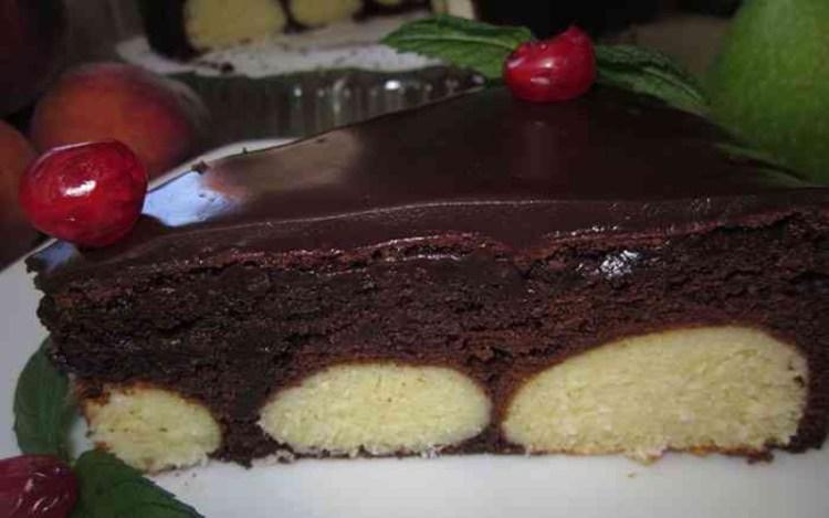 Невероятное лакомство – торт с творожными шариками