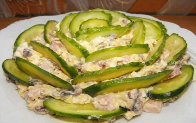 «Изумрудный» салат: простая и вкусная закуска на любой случай жизни