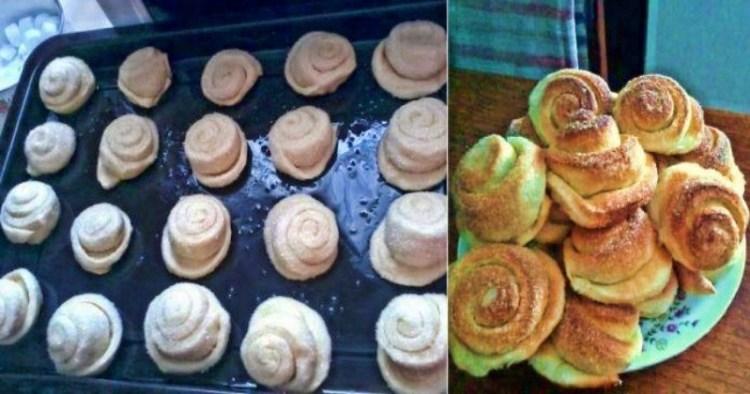 Если внезапно приперлись гости: рецепт самых быстрых и вкусных булочек «Вкусняшек»