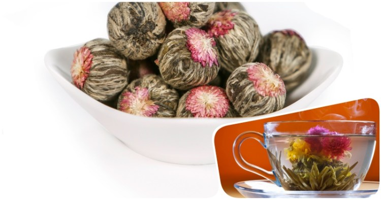 Не только здорово, но и красиво: как связанный чай распускается в великолепный цветок