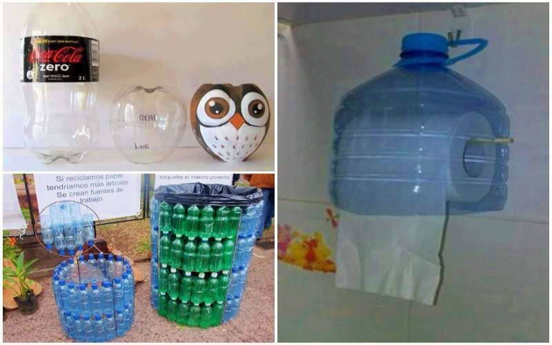 Лучшие поделки из пластиковых бутылок: 81 идея для новой жизни