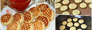 Жареное печенье удивит изысканным вкусом и приятным ароматом