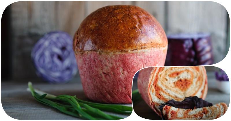свекольный хлеб, гипнотизирующий своим видом и вкусом
