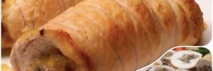 Куриный рулет с грибами и сыром точно понравится гостям. Нарезанный кусочками рулет куриный еще и украсит стол. Вам осталось лишь перечитатьрецепт куриного рулета, и мигом мчаться на кухню!