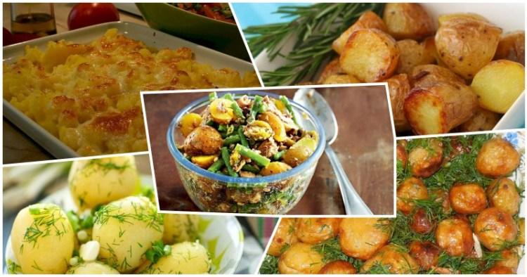Жареная, вареная, запеченная и в салате: 5 способов приготовления молодой картошки