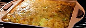 Запеканка из кабачков с хрустящей сырной корочкой: летняя закуска на все случаи жизни