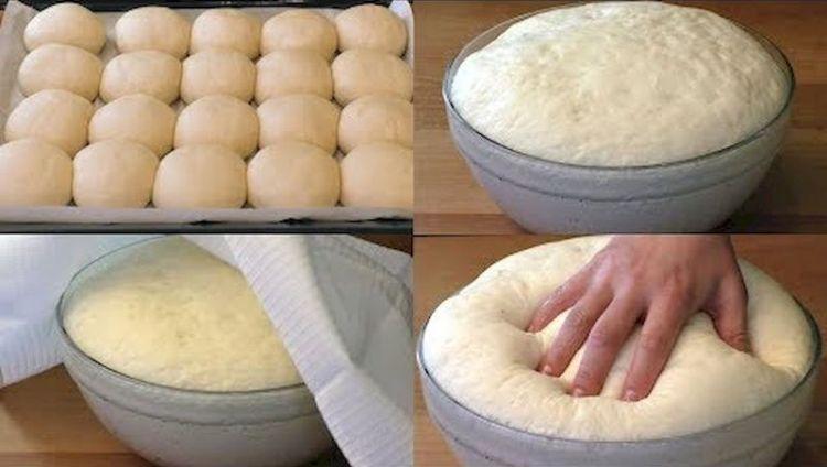 Быстрое дрожжевое тесто на воде без яиц: удобная находка для каждой хозяйки