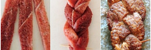 Сочные мясные косички: достойная альтернатива любимым отбивным
