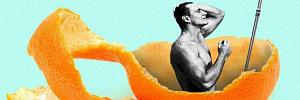 Чтобы каждое утро было ярким: почему нужно съедать апельсин во время утреннего душа