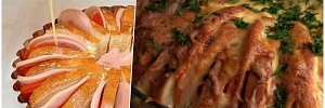 Пирог с колбасой и батоном: как приготовить питательный завтрак за несколько минут