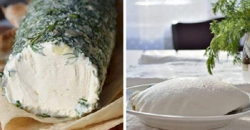 Как приготовить домашний сливочный сыр на основе обычного кефира и сметаны
