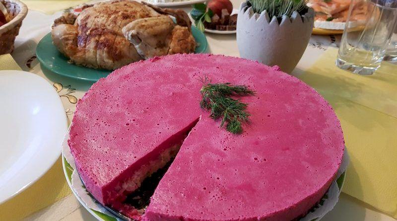 Селедочный чизкейк: как приготовить яркую и вкусную закуску к праздничному столу