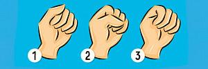 Сжать кулак, чтобы узнать о себе больше: тест определит, кто вы на самом деле