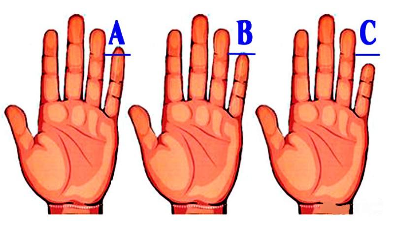 Какой палец, такие и вы: что говорит длина и форма мизинца о вашем характере