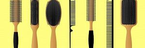 Со щетиной или с зубчиками: что форма любимой расчески расскажет о вашем характере