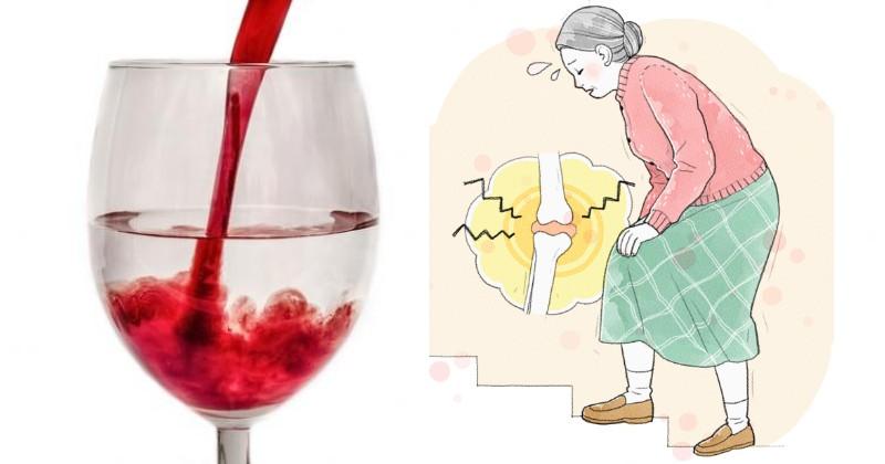 Профилактика с вином и водой: 7 натуральных напитков от артрита