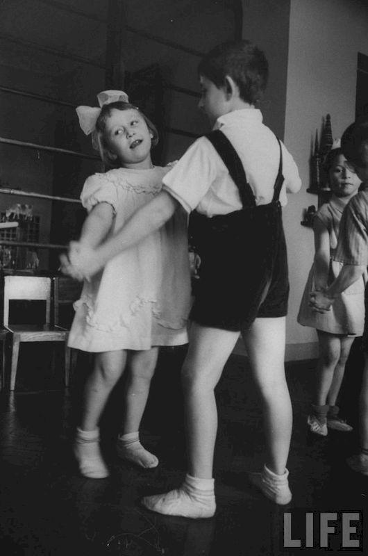 Детский сад 1960-х в объективе камеры иностранного фотографа