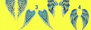 Выберите крылья и узнайте имя своего ангела-хранителя