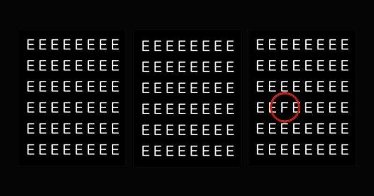 """Если найдете букву """"F"""", то вашей наблюдательности можно позавидовать"""