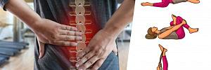 7 упражнений для спины от болей в пояснице