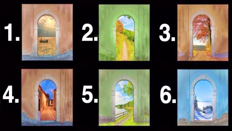 ТЕСТ: выберите дверь и узнайте, в какое будущее она вас приведет