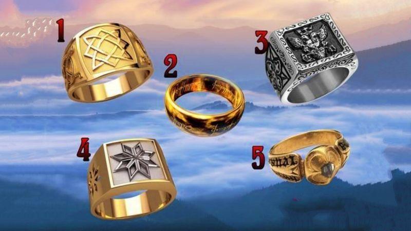 Выберите перстень и узнаете, как хорошо вы контролируете свою жизнь