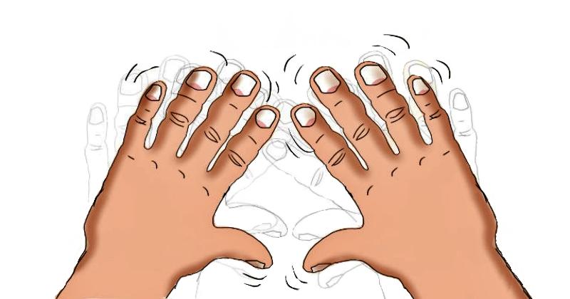 Тремор и 14 причин, что у вас дрожат руки