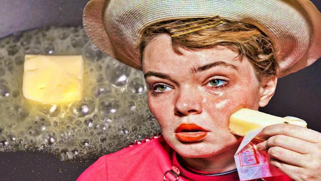 Как за 2 минуты сливочное масло может сделать из любой женщины конфетку