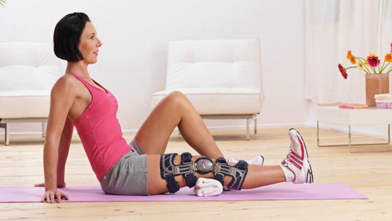 Бандаж на колено – спасение для людей, ведущих активный образ жизни