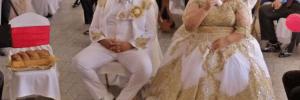 Роскошная румынская свадьба, на которой платье невесты обошлось в 200 тысяч долларов