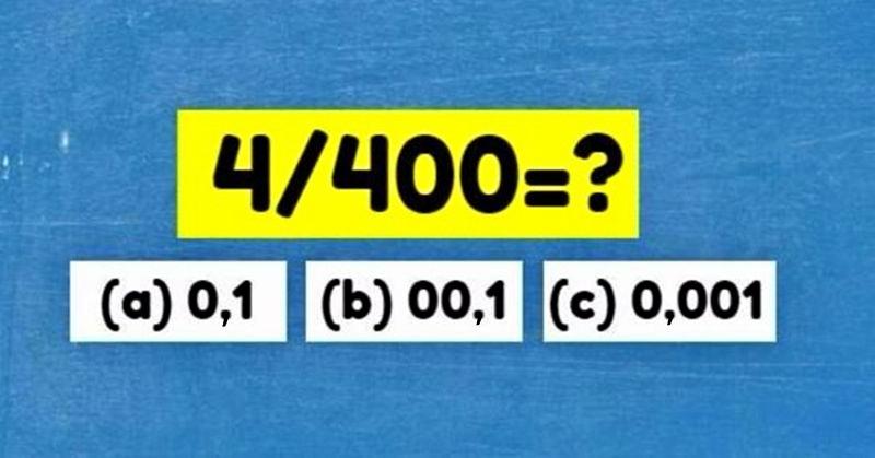 Мы предложили этот тест на IQ 50 разным людям. Никто не смог пройти!