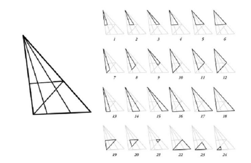 Миллионы людей не могут, но может вы найдете все треугольники на этом изображении?