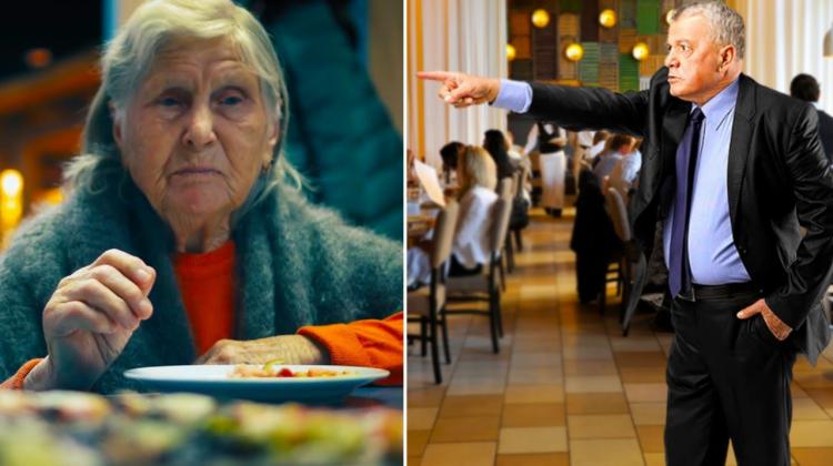 Директор ресторана выставил вон милую старушку, но он и догадаться не мог, кем она была на самом деле