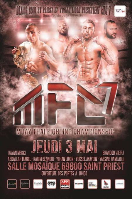 Muay thai Fighting Championship 7 : les résultats