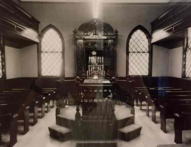 Interior of the old synagogue
