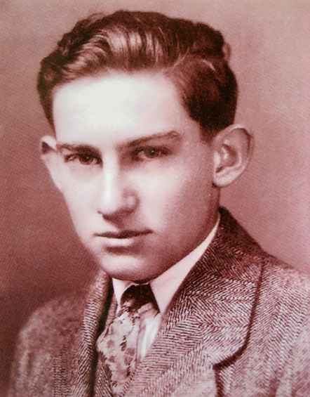 Leonard Abraham as a youth