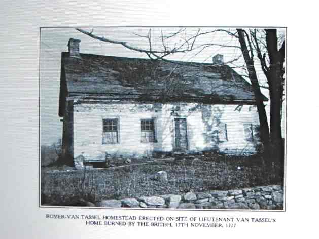 Romer-Van Tassel homestead in Elmsford where Frena and Jacob retired to