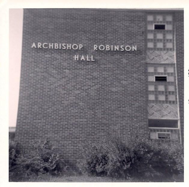 St Bonaventure -- Robinson Hall