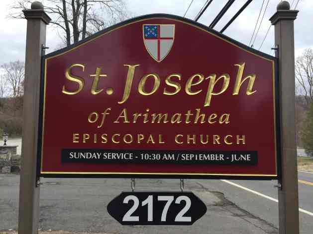 St Joseph of Arimathia sign
