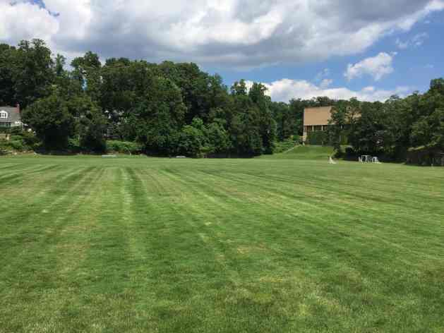 Hackley Field from from the west