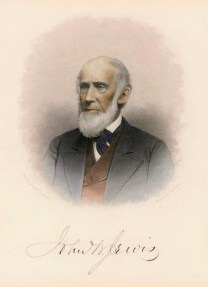 A portrait of John B Jervis in later years