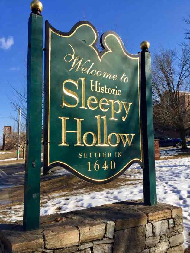 Sleepy Hollow Village sign