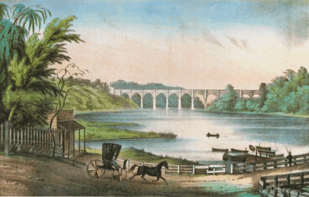 High Bridge in Poe's time